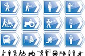 Which direction do you want your career to go in? Shiny vectored information signs.