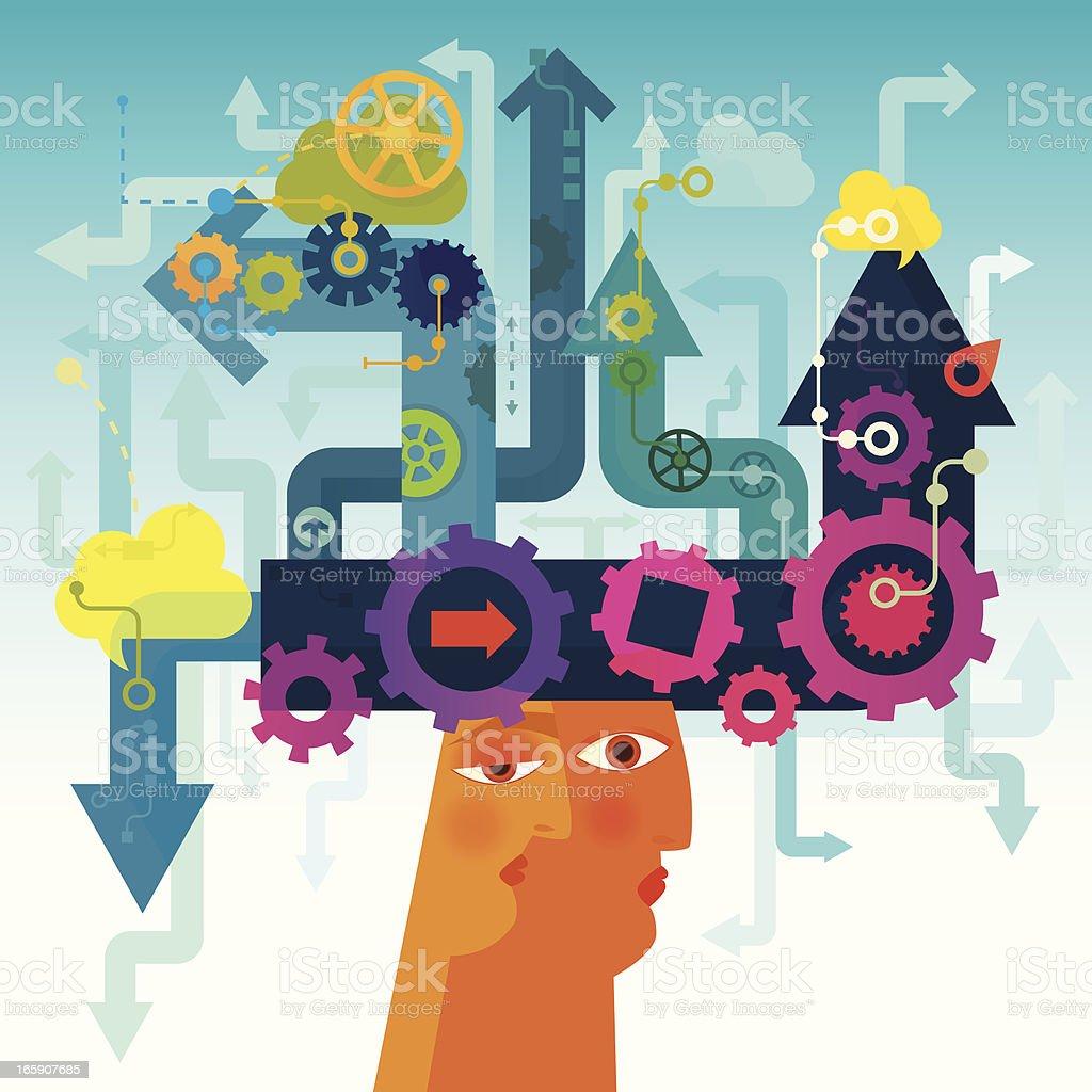 Career Opportunities royalty-free stock vector art