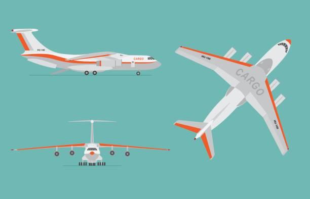 貨物航空機 イラスト素材 Istock