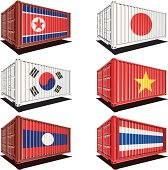 Trade/Import/export merchandise from different countries.