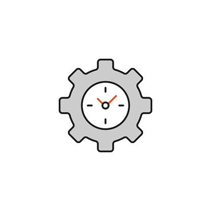 Cargo Processing Time Modern Editable Stroke Line Icon