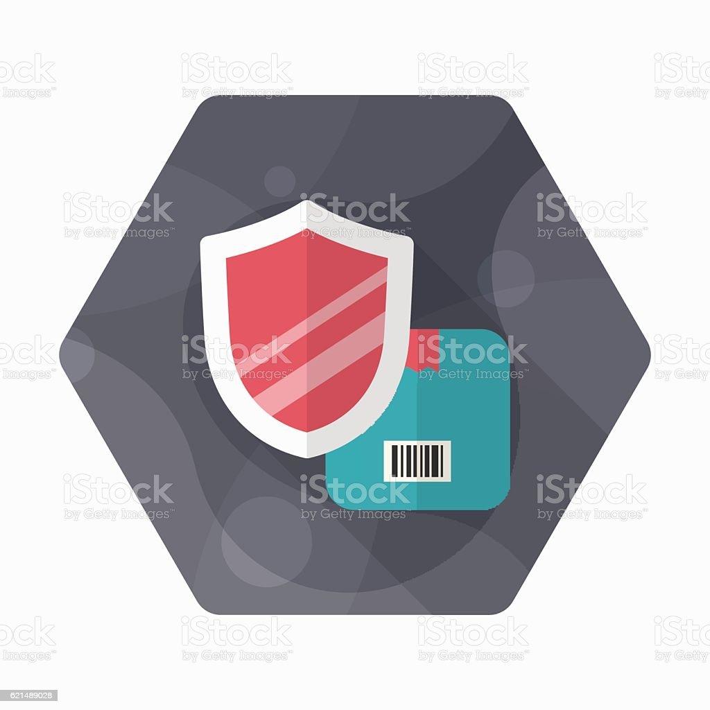 Cargo security icon cargo security icon – cliparts vectoriels et plus d'images de bloc-note libre de droits