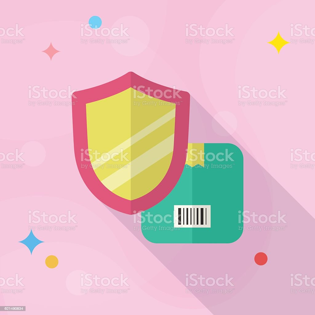 Cargo security icon Lizenzfreies cargo security icon stock vektor art und mehr bilder von bettbezug
