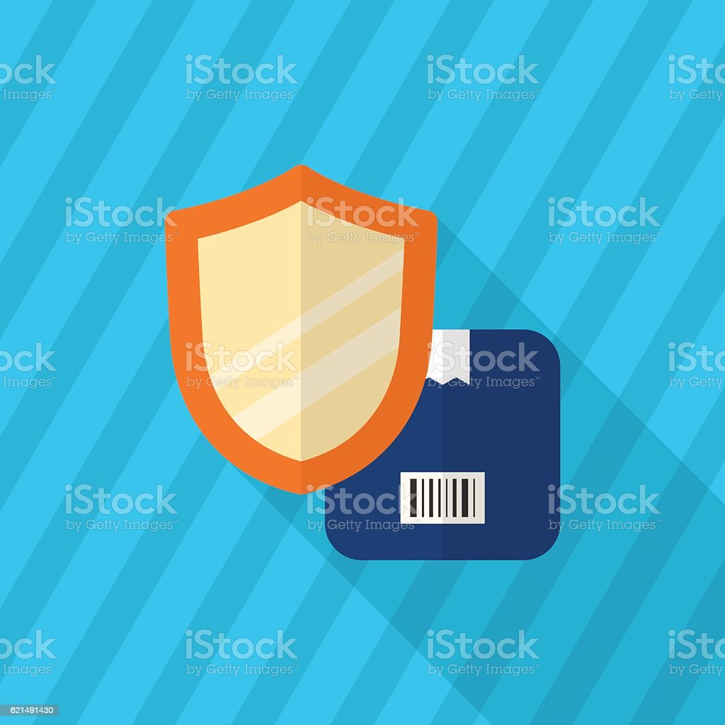 Cargo security icon Lizenzfreies cargo security icon stock vektor art und mehr bilder von bettbezug