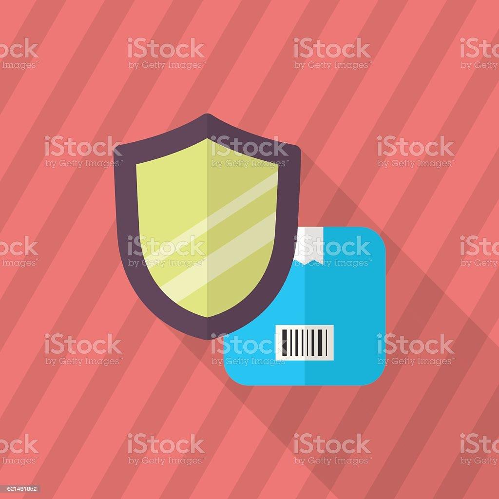 Cargo security icon cargo security icon - immagini vettoriali stock e altre immagini di assonometria royalty-free