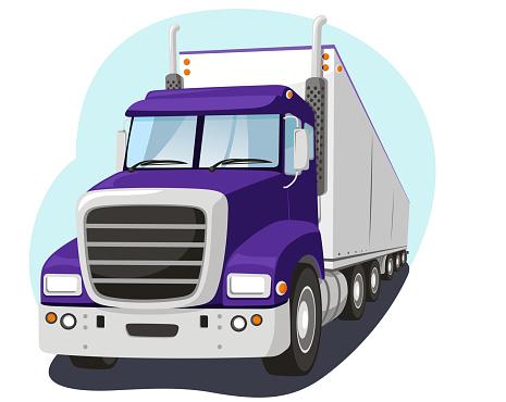 Cargo Truck Fright Transportation Industry