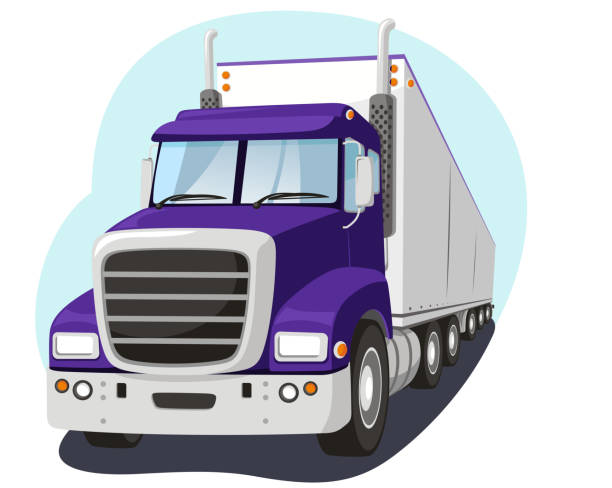 Royalty Free Truck Driver Clip Art, Vector Images ...