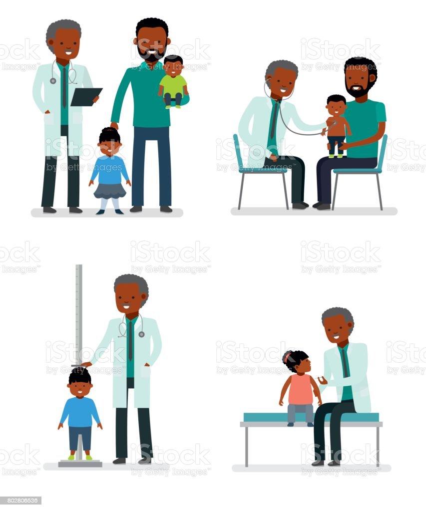 royalty free pediatrician office clip art vector images rh istockphoto com female pediatrician clipart pediatrician clipart pictures