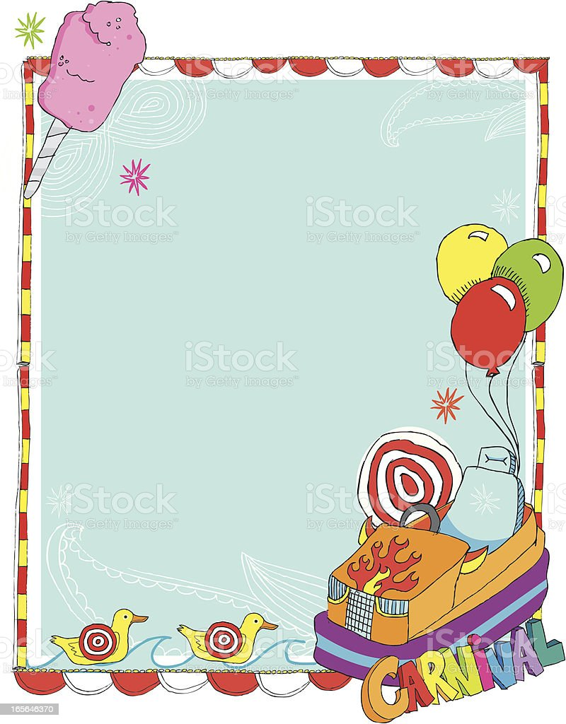 Carnival Border royalty-free carnival border stock vector art & more images of balloon