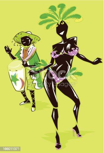 istock Carnival dancer 166011371