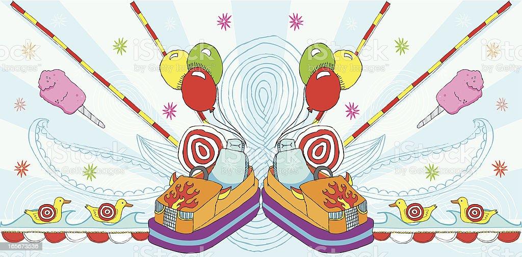 carnival design elements royalty-free stock vector art