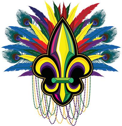Carnival Fleur de Lis