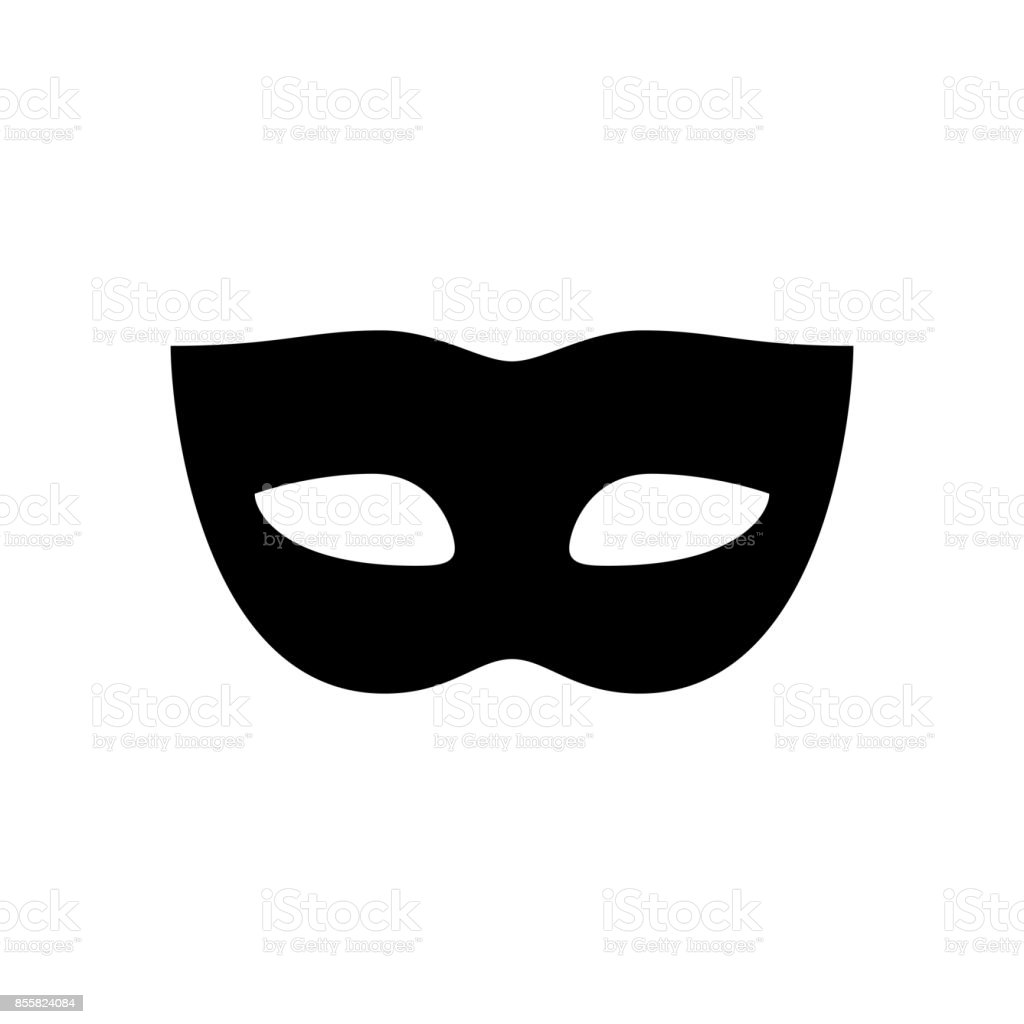 Royalty Free Black And White Mask Clip Art, Vector Images ...