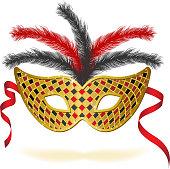 Carnival mask. EPS10.