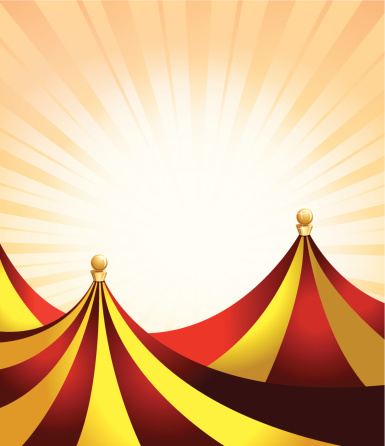 Carnival or Entertainment Tent Background