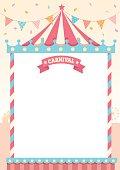 carnival pastel template