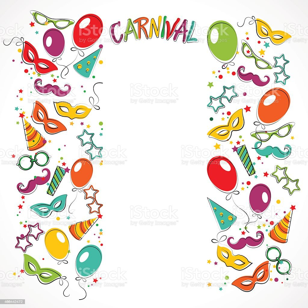 carnival template stock vector art more images of 2015 466442472