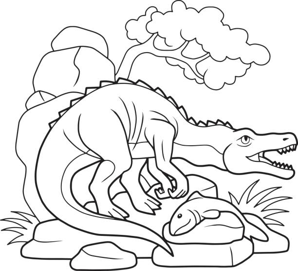 Royalty Free Baryonyx Clip Art, Vector Images & Illustrations - iStock