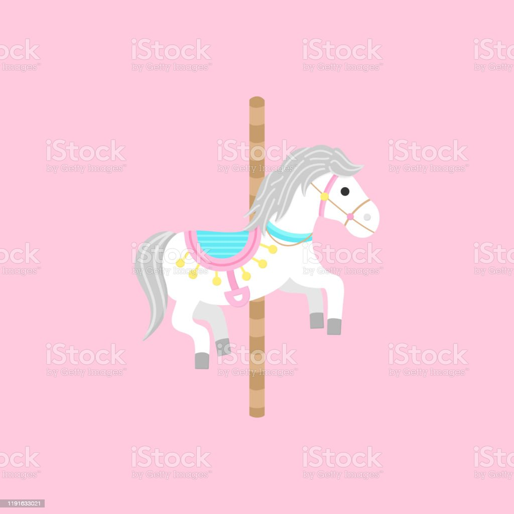 Carousel Horse Stock Illustration Download Image Now Istock