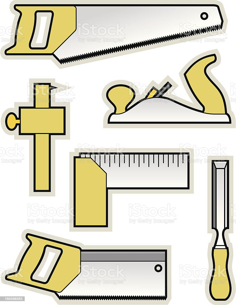 carpenters tools stock vector art more images of carpentry