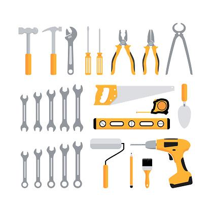 carpentry tools icon