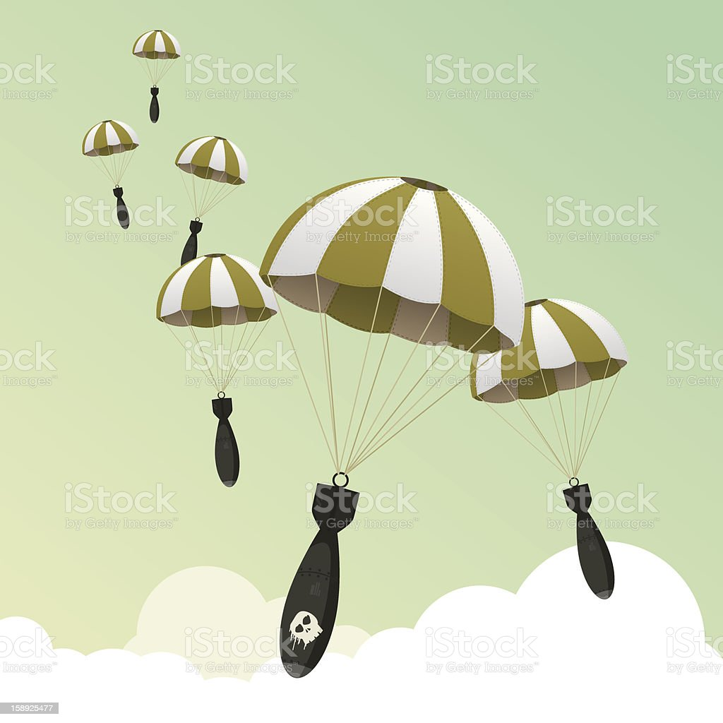 Carpet bombing! royalty-free carpet bombing stock vector art & more images of aggression
