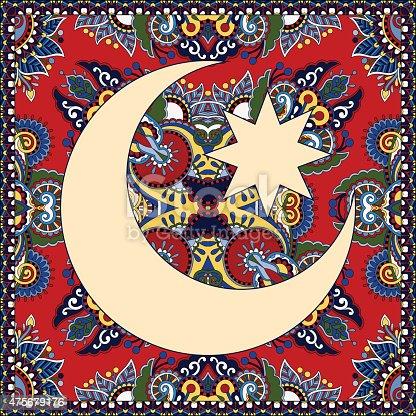 istock carpet design for holy month of muslim community festival Ramada 475679176