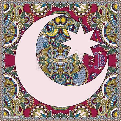 istock carpet design for holy month of muslim community festival Ramada 475679454