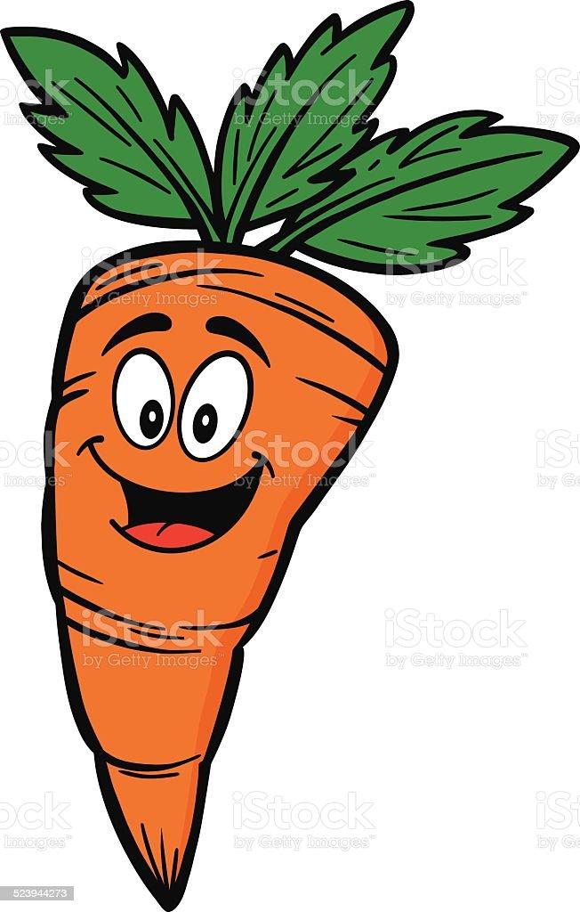 Carotte dessin anim mascotte cliparts vectoriels et - Dessin de carotte ...