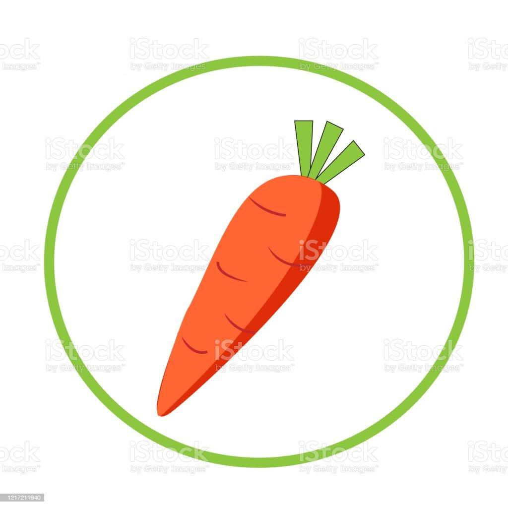 Zanahoria En Caricatura