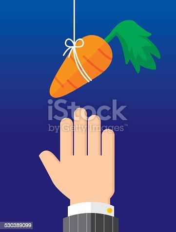 istock Carrot on String 530389099