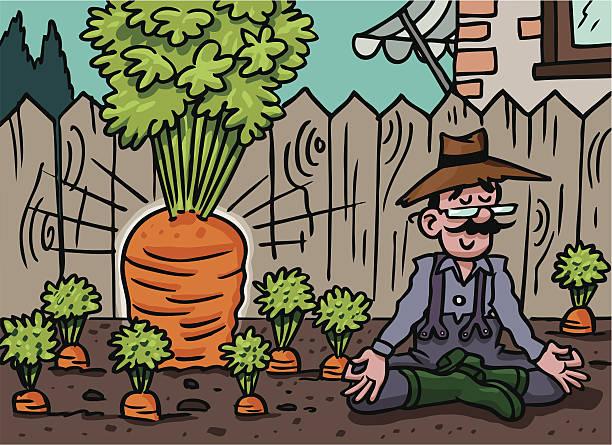 carrot power - karotte peace stock-grafiken, -clipart, -cartoons und -symbole