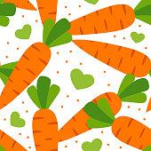 Carrot Fruit Vector illustration