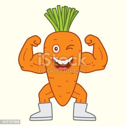 istock Carrot super power 645787856