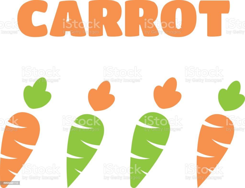Zanahoria Vector : Fotos de alta resolución y clipart vectorial de zanahoria de 0.80 € para proyectos comerciales, educativos y personales.