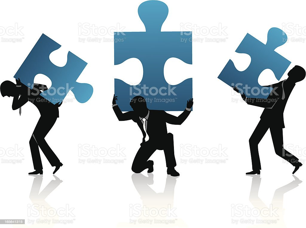 Carry Jigsaw Puzzle royalty-free carry jigsaw puzzle stock vector art & more images of abstract