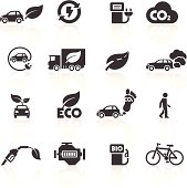 Cars and the Environment Icons. Layered & grouped for ease of use. Download includes EPS 8, EPS 10 and high resolution JPEG & PNG files.