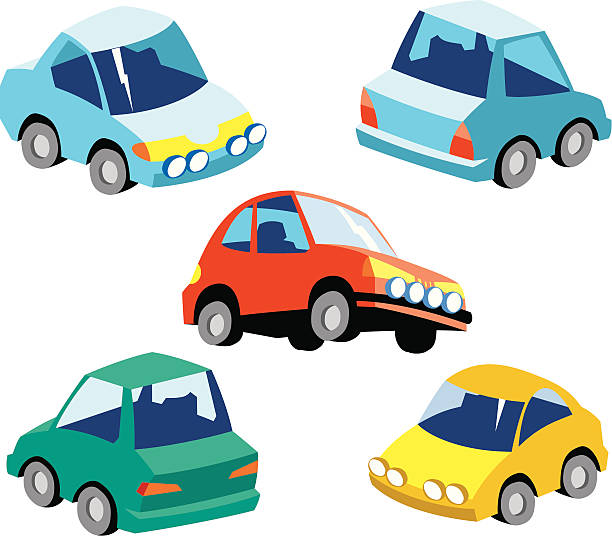 cars clipart toy vector clip icon illustrations nobody vectors istock royalty