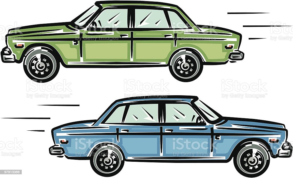 Cars illustration royalty-free cars illustration stock vector art & more images of car