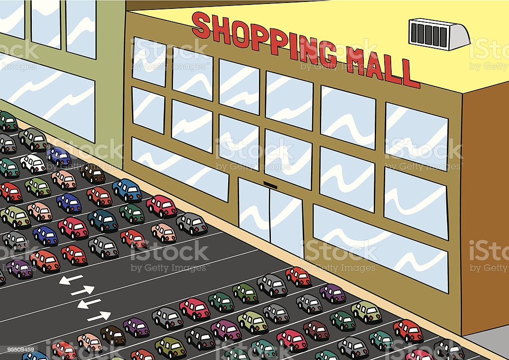 Shopping Mall Clipart
