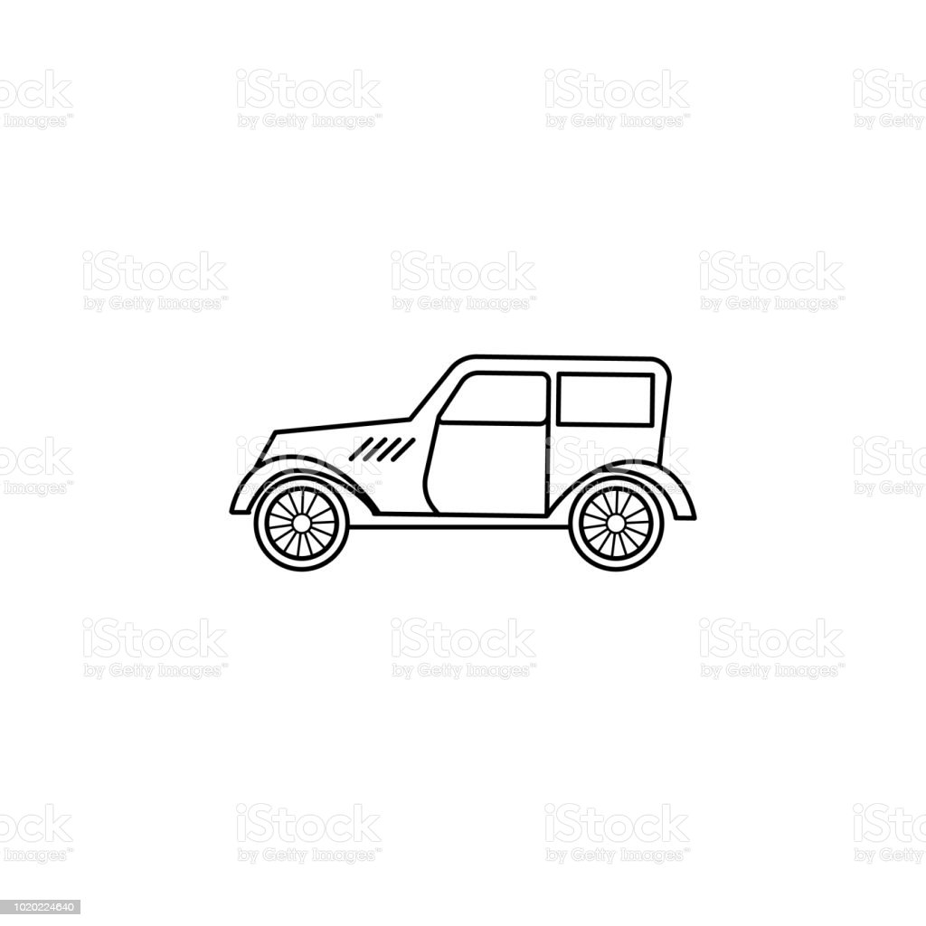 cars of the forties icon element of generation icon for mobile Jeep Desk element of generation icon for mobile concept and web apps