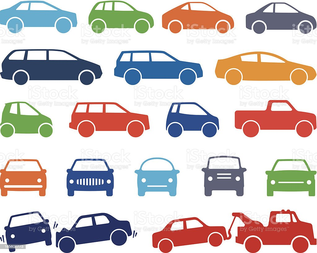 Cars royalty-free stock vector art