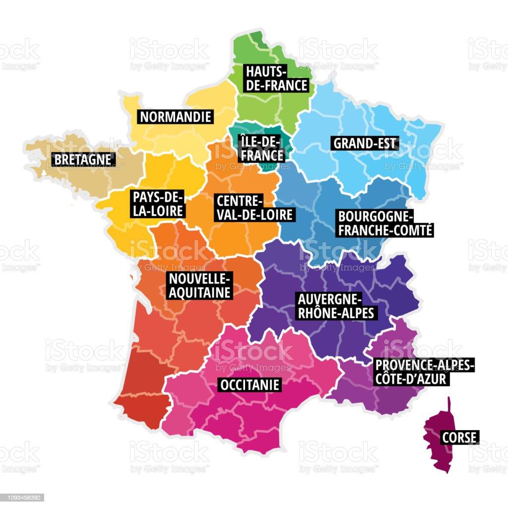carte de france image Carte De France Stock Illustration   Download Image Now   iStock