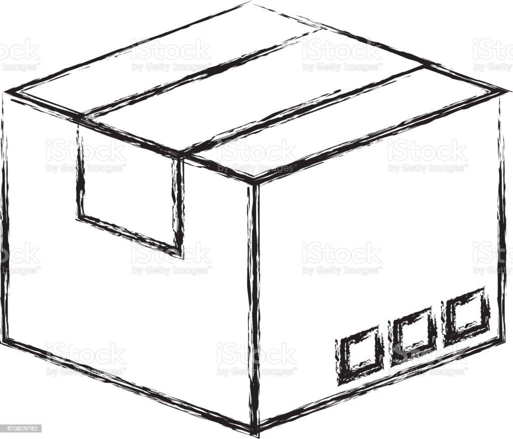 karton kutu ambalaj simgesi royalty-free karton kutu ambalaj simgesi stok vektör sanatı & alış'nin daha fazla görseli