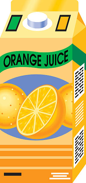 Royalty Free Orange Juice Carton Clip Art, Vector Images ...