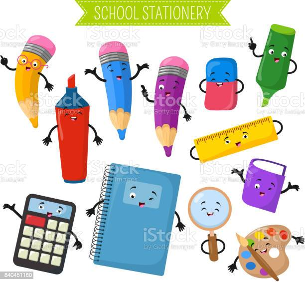 Cartoon 3d vector characters of school writing stationery vector id840451180?b=1&k=6&m=840451180&s=612x612&h=z h819jyj0x11bxtpykrjqkdewuhxwrv1buyhzhydry=