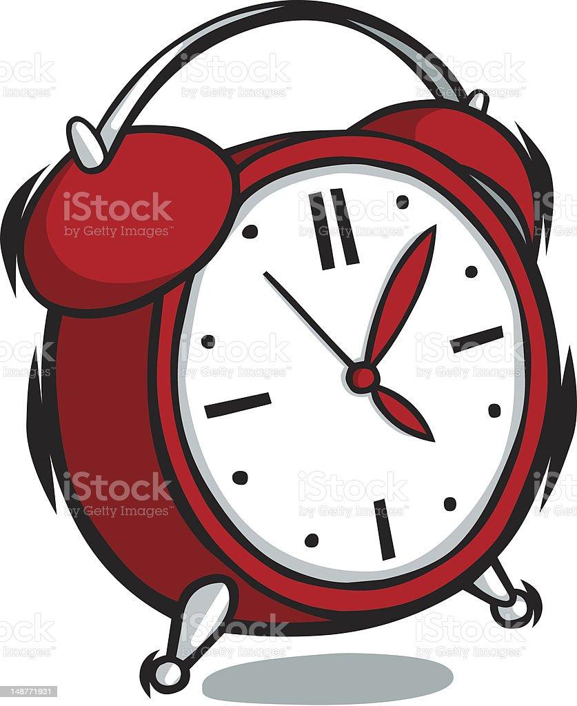 cartoon alarm clock stock vector art more images of alarm clock rh istockphoto com alarm clock clip art free alarm clock clip art free
