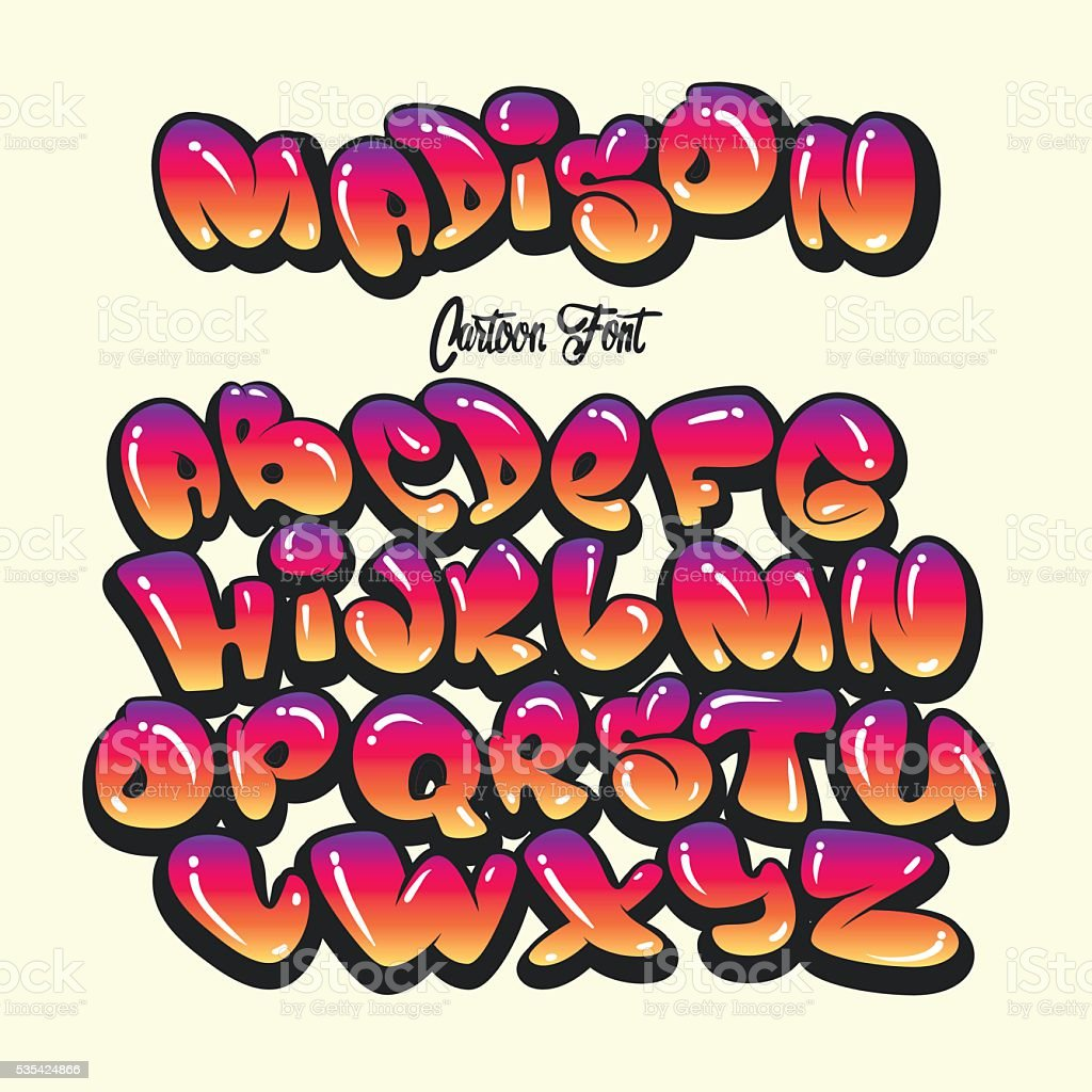 dessin anim alphabet dans le style graffiti comics dessin anim alphabet dans le style graffiti - Dessin Graffiti