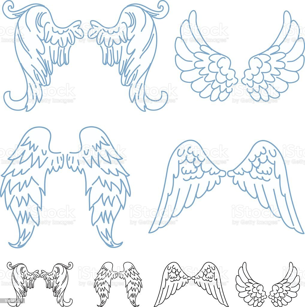angel wings pictures cartoon
