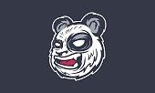 Cartoon Angry Panda Illustration